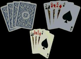 Misc Objects - playing cards by Sheona-Stock
