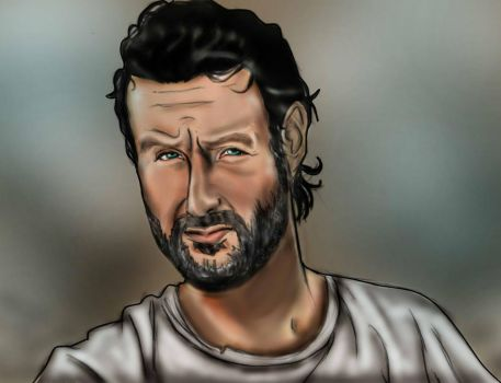 The Walking Dead: Rick Grimes by Axels-inferno