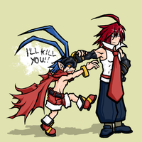 Disgaea - I'LL KILL YOU by tawamureru