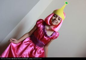 Young Princess Bubblegum Curtsy by firecloak