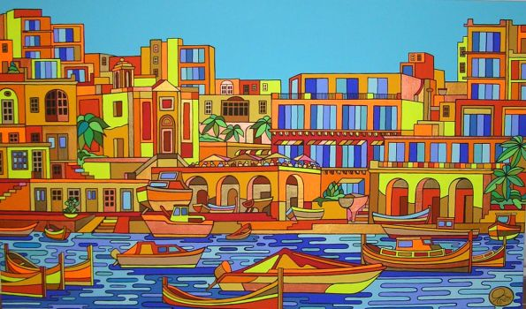 Spinola Bay - Ofer by Evilpainter
