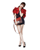 SNSD - Tiffany Png by thisisdahlia