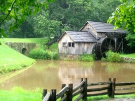 Mabry Mill by chaussonsauxpommes