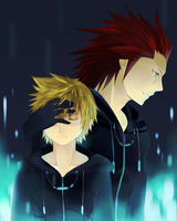 KH2- One sided sentiment by meru-chan