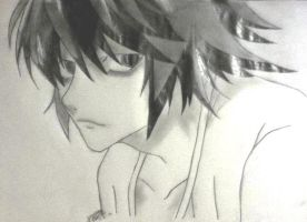 L Lawliet Birthday! by DistantAnimeDreamer