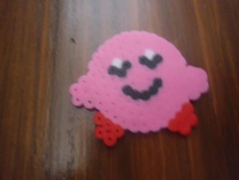 Melting Beads Kirby by sydneypie