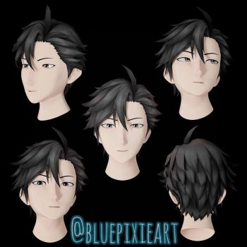 Does Jumin Han is 3D? by BluePixieArt