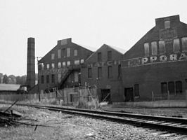 Abandoned Match Factory by AiPFilmMaker