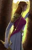 Zelda colored by DougSQ