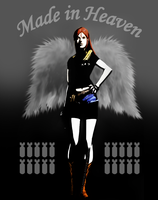 Claire Redfield the Angel by Queen-Stormcloak