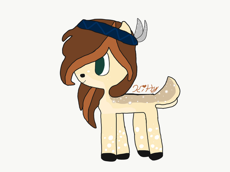Cute Fawn Pony! (Art Trade 1/2) by LavenderLilic