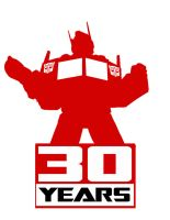 TRANSFORMERS 30 YEARS Optimus Prime by Optimus8404