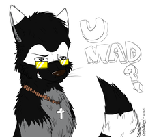 D3: U MAD? -birthdaygift- by OoglaBaloogla