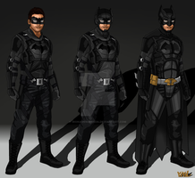Arrow/Flash Concept: Batman by IronAvenger1234