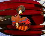 Turaco Red by IcebergLonely