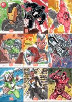Marvel Now Set 02 by rustywork