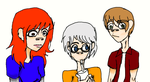 artfulimpersonator members as Gorillaz (Finished) by Frankenstein12Coming