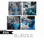 Bluecolic (Original Action) by feelthecolours