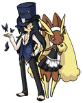 Lopunny by SpaceTentacles