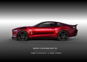 2015 Ford Mustang concept (alternative vision) by jhonconnor