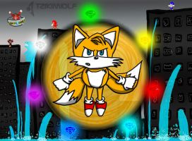 Tails Saves the City by TzikiiWolf