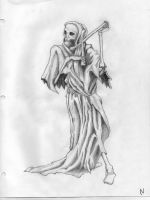 Grim Reaper by Chick-with-a-pencil