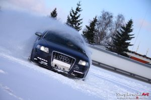 Snow fun with Audi by SestoElemento