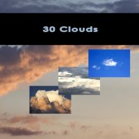 30 Clouds Free stuff Thanks for 20k by Clu-art