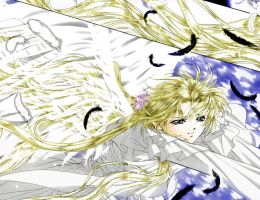 Skip Beat - sad Angel 0.2 by Silver-Nightfox
