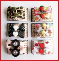 Hair Clips Mix 3 by cherryboop