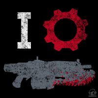I Love Gears by Bamboota