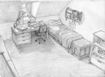 Jakes Room o: by kiki-kit