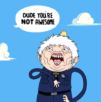 Dude, You're Not Awesome. by Museinu