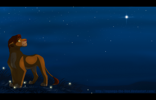 The Endless Night by Mganga-The-Lion