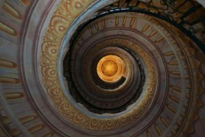 awesome view in stairway by ingeline-art