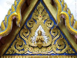 Detail of the Phra Thinang Sanam Chan pavilion by Angbryn