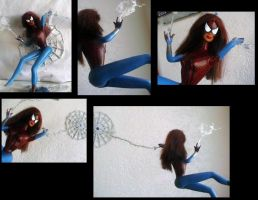 Barbie as SpiderGirl by U-Nica
