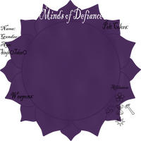 Minds of Defiance Application Sheet by americacat1