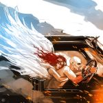 Mad Max Fury Road Nux angel guardian by maXKennedy
