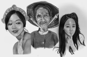 Female asian portraits by CobyRicketts