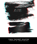 [PACK TEXTURE] Splatter Black and white by DAMIANsoul