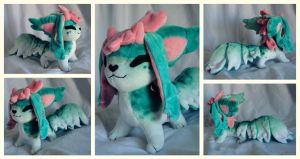 Sunleth Plushie by foxpill