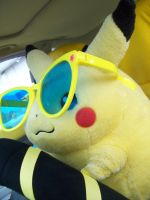Pikachu Can Drive by pikabellechu