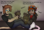 Smelly Foot Tickling by TobyMcDee