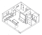 Isometric Room by darkhearteddon250