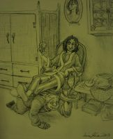 The HBP and his manservant by bonnieslashfiend