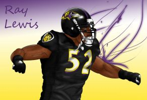 Ray Lewis by Briscology