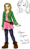 Elysia Hughes design sketch by manu-chann