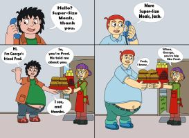 Fred and George Getting Fatter 07 by MCsaurus