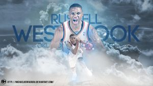 Russell Westbrook wallpaper by michaelherradura